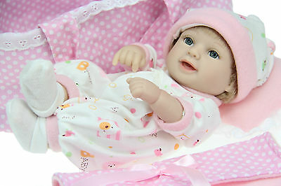 Reborn baby dolls for sale cheap full vinyl realistic baby dolls that look real