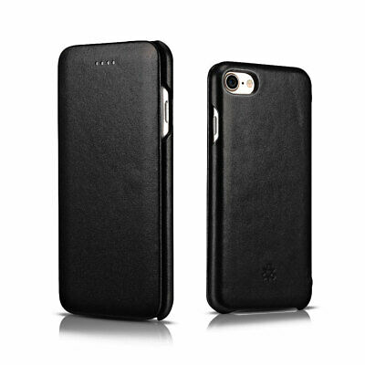 Novada Genuine Leather Flip Case Cover for iPhone 8 & iPhone 7