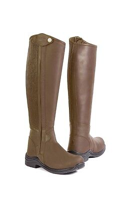 Toggi Quest Ladies Side Zipper Riding Boots