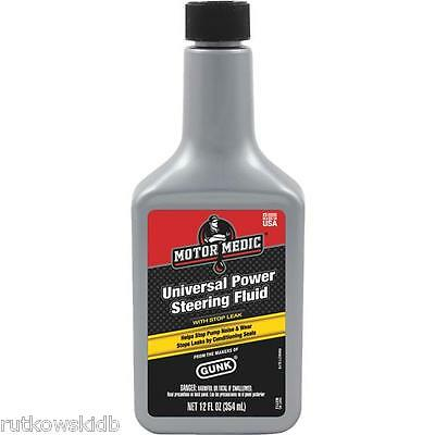 12-ounce MotorMedic Power Steering Fluid