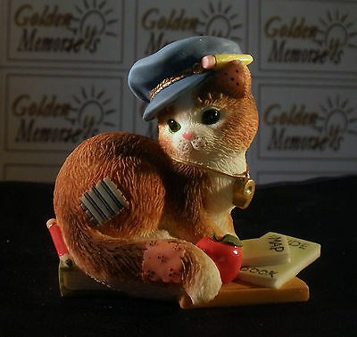 "2000 Enesco Calico Kittens ""Thanks For Guiding Us Towards Our Goals"" No. 720631"