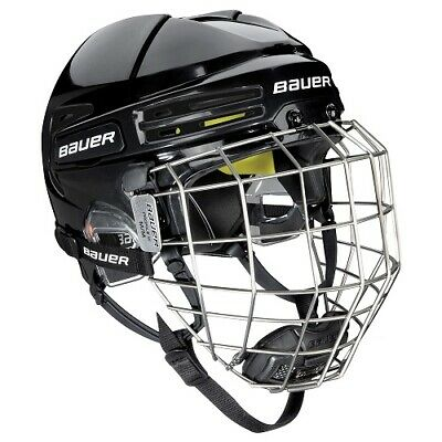 Bauer Eishockey Helm Combo RE-AKT 75  Senior in 4 Farben