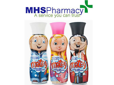 Matey Bubble Bath PICK ONE -  Max/Molly/Pirate