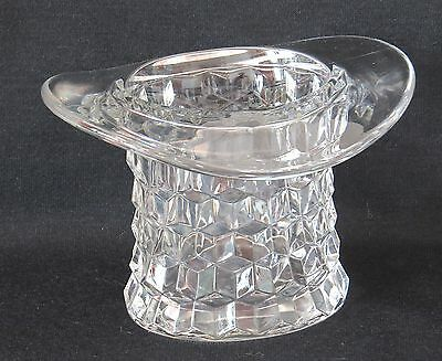 """Vintage Fostoria """"American"""" Glass Topper 4"""" #2056 1940-1958 Top Hat PERFECT"""