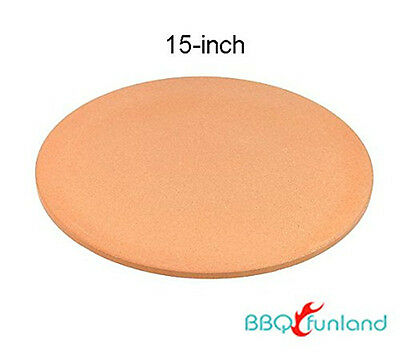Pizzacraft 15-Inch Round Cordierite Baking/Pizza Stone - For Oven or Grill B1515