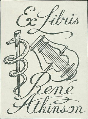 Rene Atkinson.   bookplate JD.65