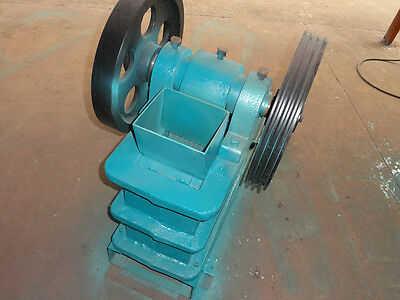 "Brand New PE100X150 4""X6"" Universal Jaw Crusher With 3HP Motor Free Ship By Sea"
