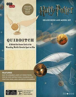 Incredibuilds: Harry Potter: Quidditch Deluxe Book and Model Set by Jody Revenso