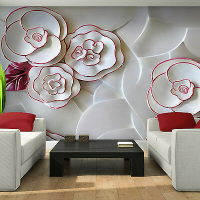 Photo Wallpaper FLORAL PATTERN Wall Mural (3695VE)