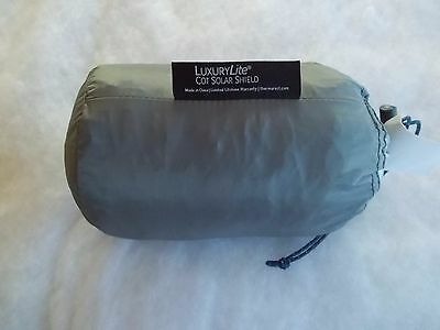 Therm-a-Rest LuxuryLite Cot Sun Shield Silver One Size
