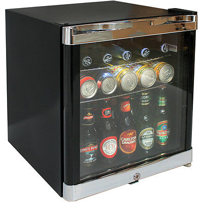 Schmick Tropical Glass Door Mini Bar Fridge 50Litre