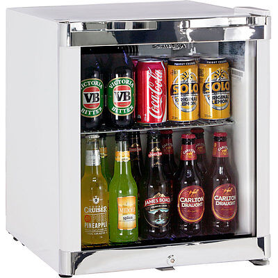 Schmick Glass Door Bar Fridge Tropical Mini 50Litre