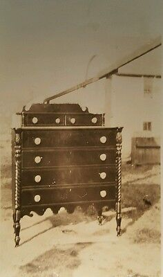 Antique Furniture Chest Of Drawers Early American Still Life Fine Art Photo Rppc