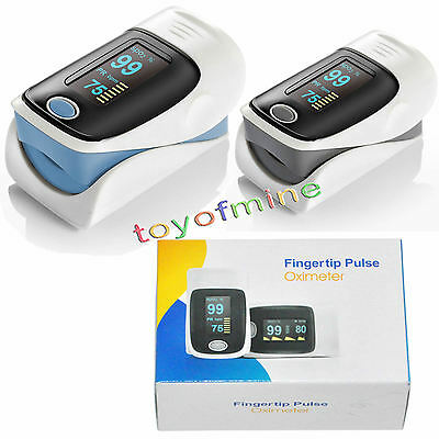 Accurate Blood Oxygen PR SPO2 Monitor Alarm Set Home Fingertip Pulse Oximeter