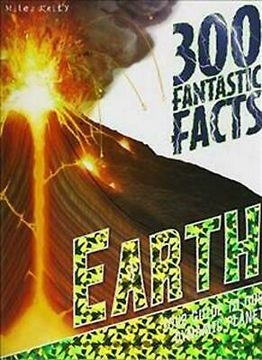 300 Fantastic Facts Earth by Peter Riley Paperback Book Free Shipping!
