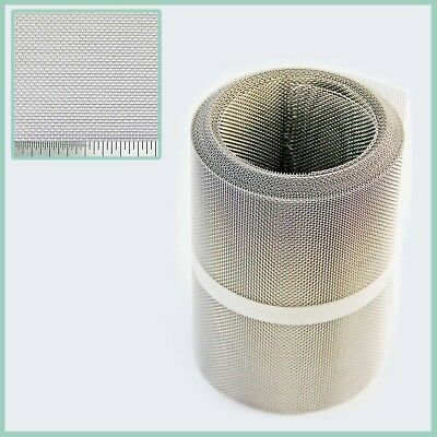Stainless Steel Insect Mesh Roll 150mm x 10 Metre(#16 1.31mm Hole x 0.28mm Wire)