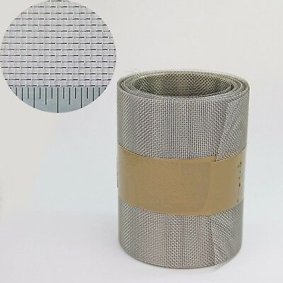 20 Metre x 150mm Roll - STAINLESS STEEL SOFFIT VENT INSECT FLY BUG MESH