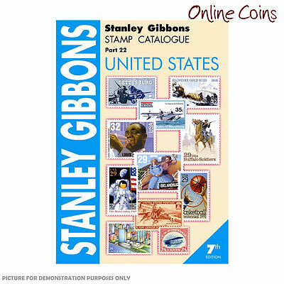 Stanley Gibbons Stamp Catalogue United States of Amercia Part 22 7th Edition