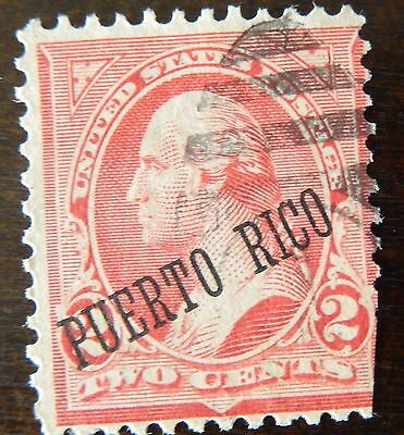 Puerto Rico Stamp American Occupation  Used Hinged
