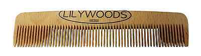 Lilywoods Wooden Natural Beechwood Baby Hair Comb for Infants and Children 13cm