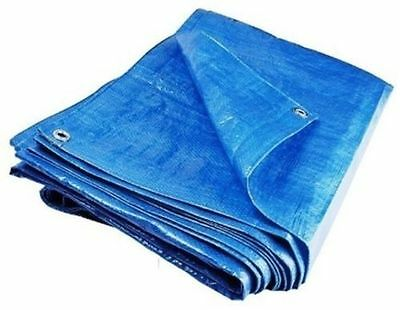 Heavy Duty Waterproof Lightweight Tarpaulin Ground Sheet Polyethylene Cover PVC.
