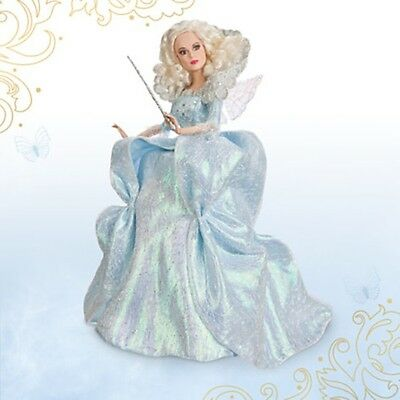 Fairy Godmother Disney Film Collection Doll - Cinderella - Live Action Film NIB