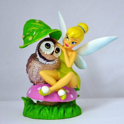 We'll Always Be Here - Tinker Bell with Owl Bird - Bradford Exchange