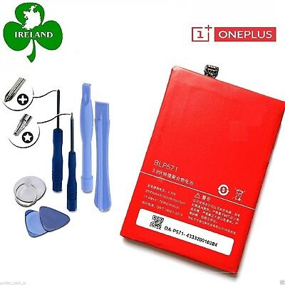 For OnePlus One Genuine Battery 1+ Replacement BLP571 3100mAh With Tools