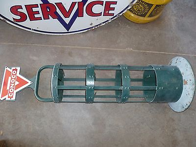 Conoco metal quart oil can rack