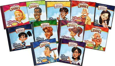 New Adventures in Odyssey LIFE LESSONS 11 Audio CD SET Childrens Lot Homeschool