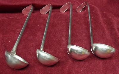 4 Stainless Steel Ladles - 6 1/2 Inch Handle