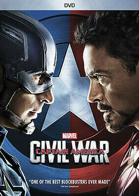 Captain America: Civil War (2016, REGION 1 DVD New)