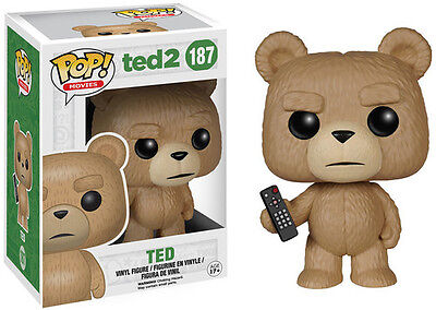 Ted 2 - Ted With Remote - Funko Pop! Movies (2015, Toy New)