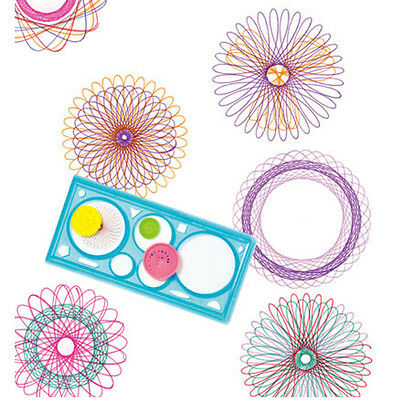 New Baby Boys Girls Spirograph Sketchpad Drawing Board Ruler Educational Toys