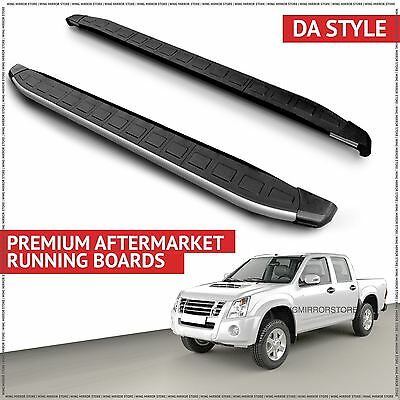 Running Boards Side Steps for Isuzu (DA) D Max SWB 2007-2012