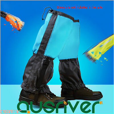 Durable Waterproof Legging Gaiters Protective Leg Cover Hiking Climbing Camping