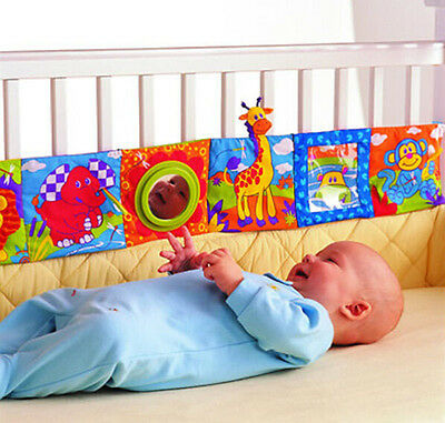 Soft Cloth Book Animal Baby Infant Kid Intelligence Development Toy Cognize Book