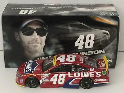 Jimmie Johnson #48 Lowe's Red Vest 2015 1/24 Scale NASCAR Diecast
