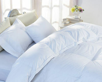 Luxurious White Goose Feather & Down Duvet Quilt - 13.5 & 15 Tog - All Sizes