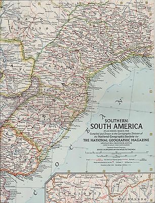 NG. Map. Southern South America 1958   (ZT.18)