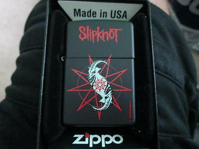 2015 Slipknot #1 Zippo Lighter Limited Edition New In Original Box Nib Rare