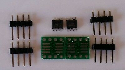 2PCS LM4871 LM4871 boomer 3W. audio Power Amp. Replaces LM386 USA Seller