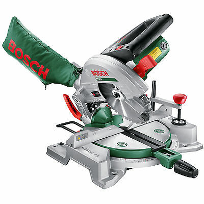 Bosch PCM 8 Compound Mitre Saw 210mm Blade 1200w 240v