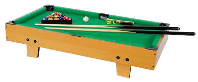 Mini Pool Table incl. Accessories as Table top, new
