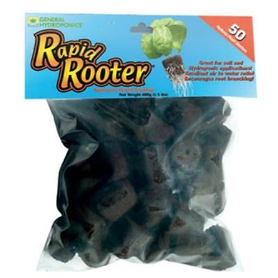 Rapid Rooter Replacement Plugs 50 Count - GH Organic Refills Plug Seeds Cloning