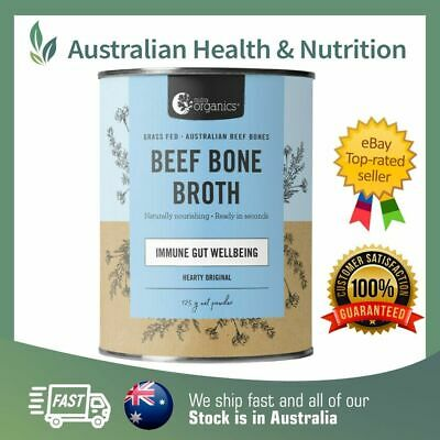 Nutra Organics - Organic Grass Fed Bone Broth Powder - All Flavours Available