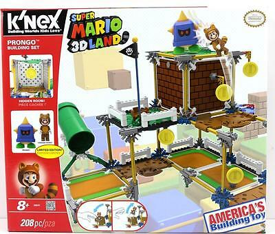 K'NEX Super Mario 3D Land Prongo Building Set, With 208 Pieces , Brand New.