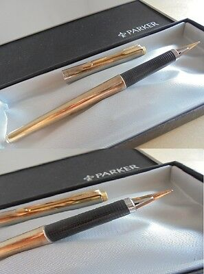PARKER 180 PENNA STILOGRAFICA + SCATOLA Fountain Pen + Box ORIGINALE