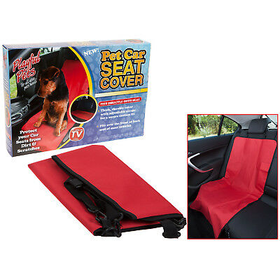 Pet Car Front Back Single Seat Cover Dog Cat Pets Waterproof Protector Mat Liner