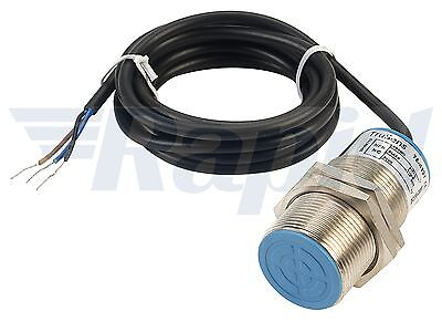 TruSens PIN-T30L-011 10mm NPN N/C M30 Long Inductive Sensor Cable Out